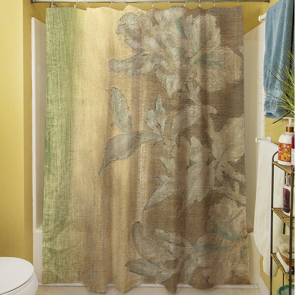 Analisa Floral Shower Curtain by Red Barrel Studio