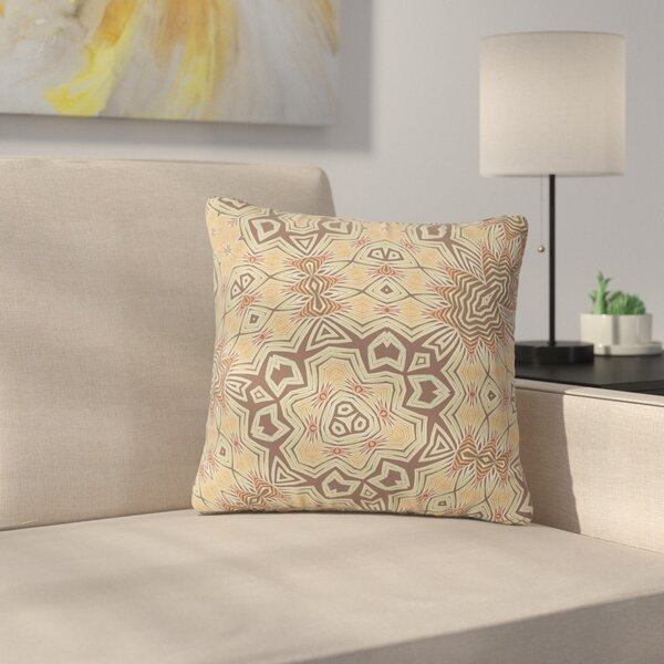 Alison Coxon Tribal Earth Digital Outdoor Throw Pillow by East Urban Home