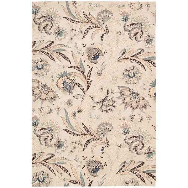 Elderton Hand-Tufted Ivory Area Rug by Darby Home Co