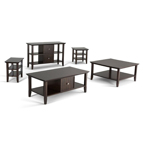 Acadian 4 Piece Coffee Table Set by Alcott Hill Alcott Hill
