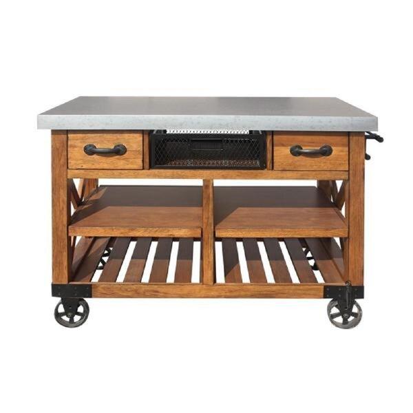 Haywa Kitchen Cart by Loon Peak