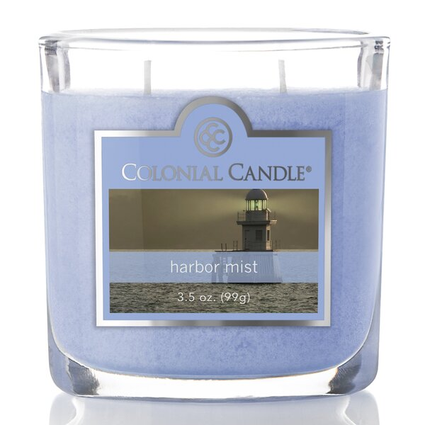 3.5 oz Harbor Mist Jar Candle by Colonial Candle