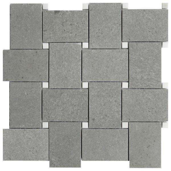 Cirella 11 x 11 Porcelain Mosaic Tile in Gray by NovoTileStudio