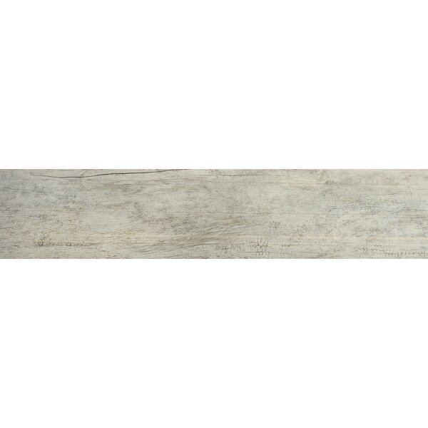 Zephyr 8 x 35 Ceramic Wood Look/Field Tile in Breeze Matte by Emser Tile