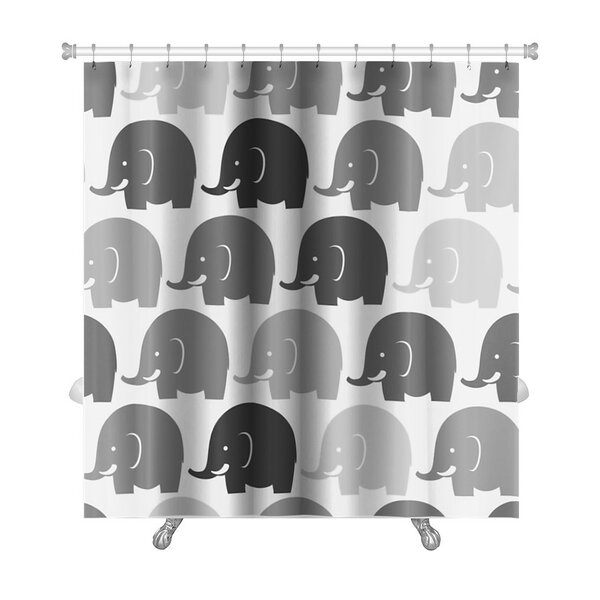 Animals Elephants Pattern Premium Shower Curtain by Gear New