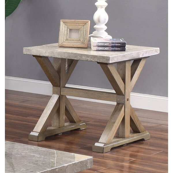 Record End Table by Gracie Oaks