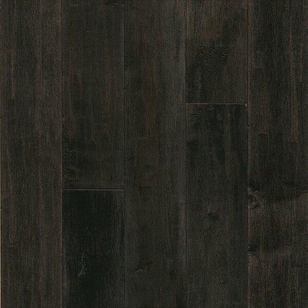 American 3-1/4 Solid Maple Hardwood Flooring in Dark Lava by Armstrong Flooring