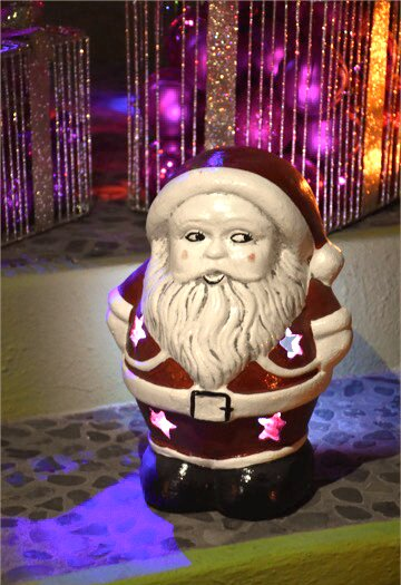 Santa Clause Luminary by Ravenna