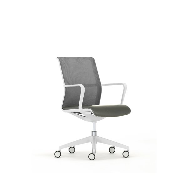 Leather Seat Circo Mesh Office Chair by Senator