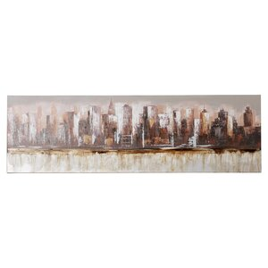 Metropolis Painting Print on Wrapped Canvas by Brayden Studio