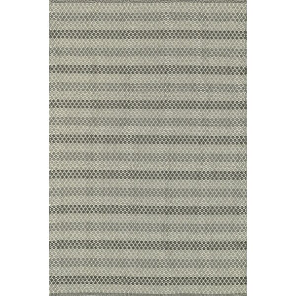 Kirchoff Hand-Woven Steel Indoor/Outdoor Area Rug by Charlton Home