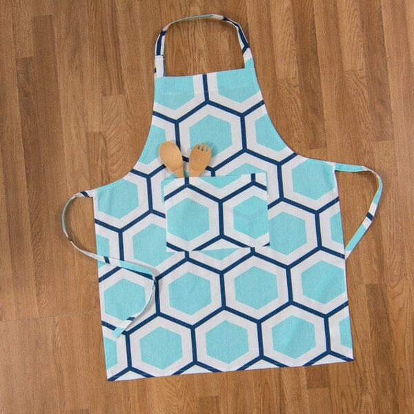 Contemporary Cotton Chef Apron by Ivy Bronx