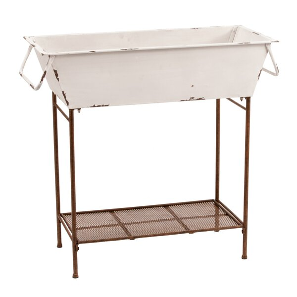 Tub Floor Plant Stand by Deer Park Ironworks
