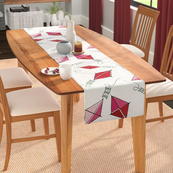 Heidi Jennings Go Fly a Kite Table Runner by East Urban Home