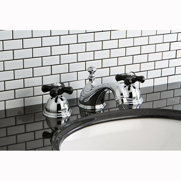 Duchess Widespread Bathroom Faucet with Drain Assembly by Kingston Brass