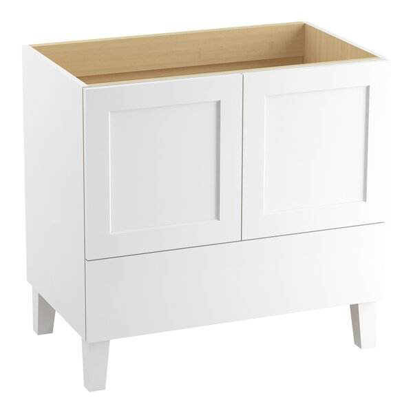 Poplin 36 Vanity with Furniture Legs, 2 Doors and 1 Drawer by Kohler