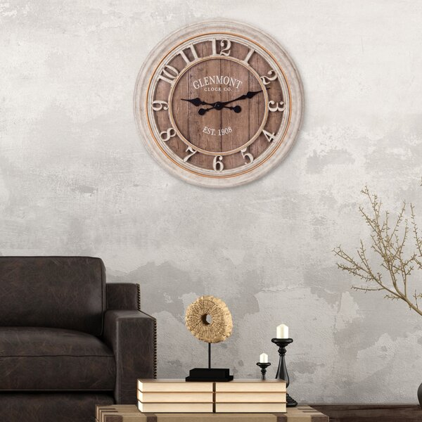 Oversized Glenmont 28 Wall Clock by Nielsen Bainbridge