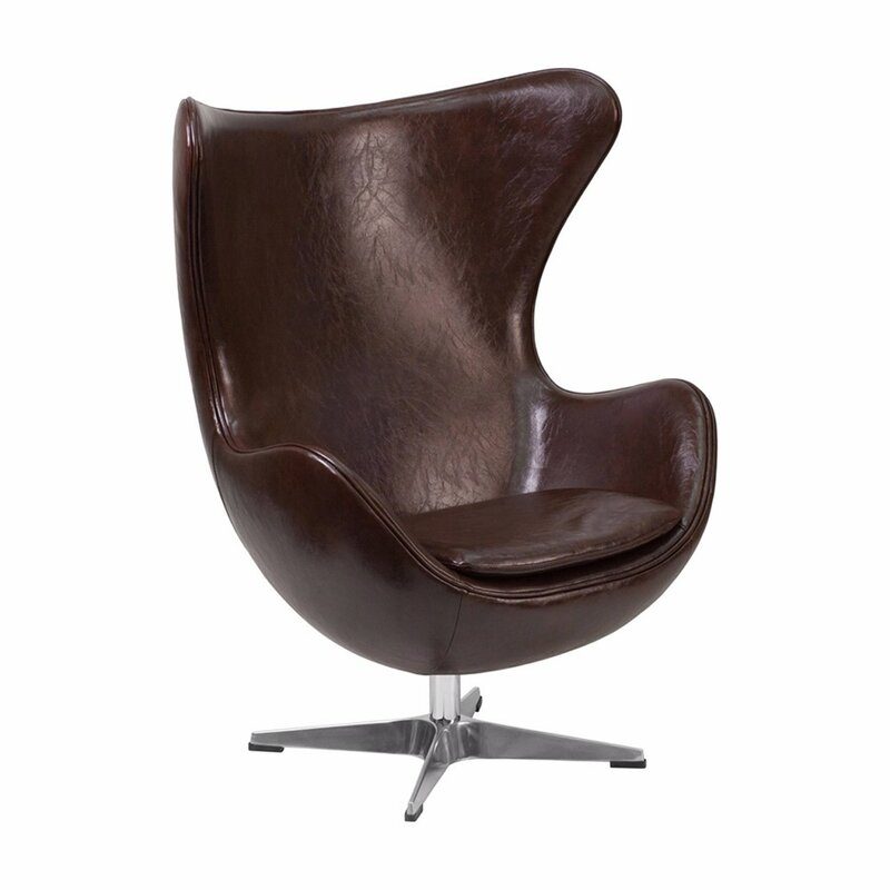 Tod Leather Swivel Lounge Chair Home Design Ideas