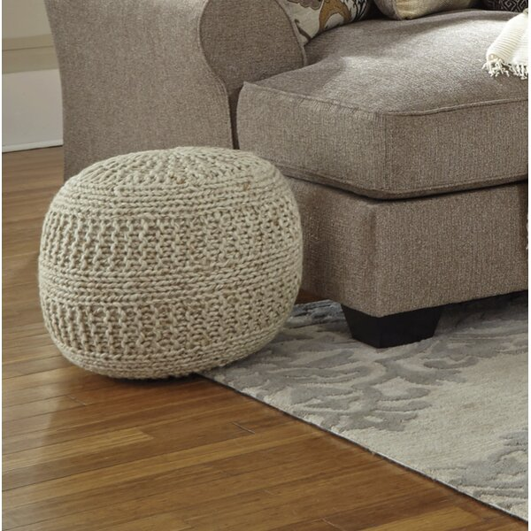 Macmillan Pouf by Beachcrest Home