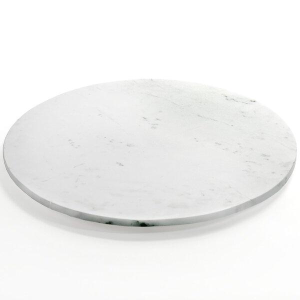 Reilly Marble Platter by Brayden Studio