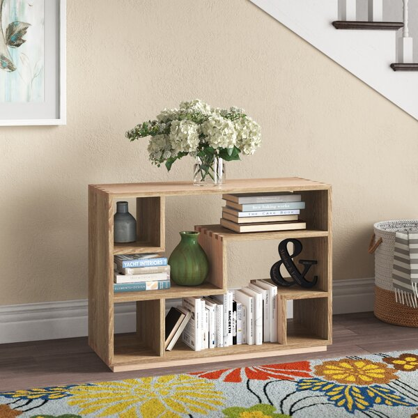 Diomede Geometric Bookcase By Ebern Designs