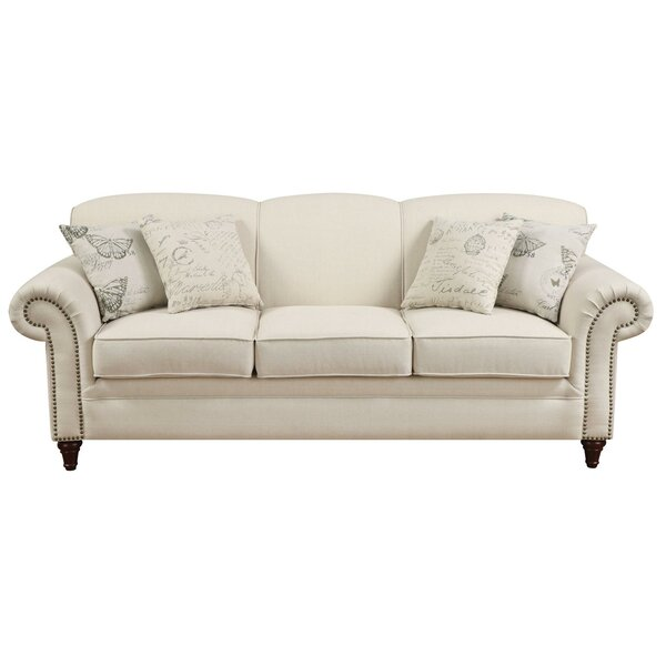 High Quality Downham Traditional Sofa by House of Hampton by House of Hampton