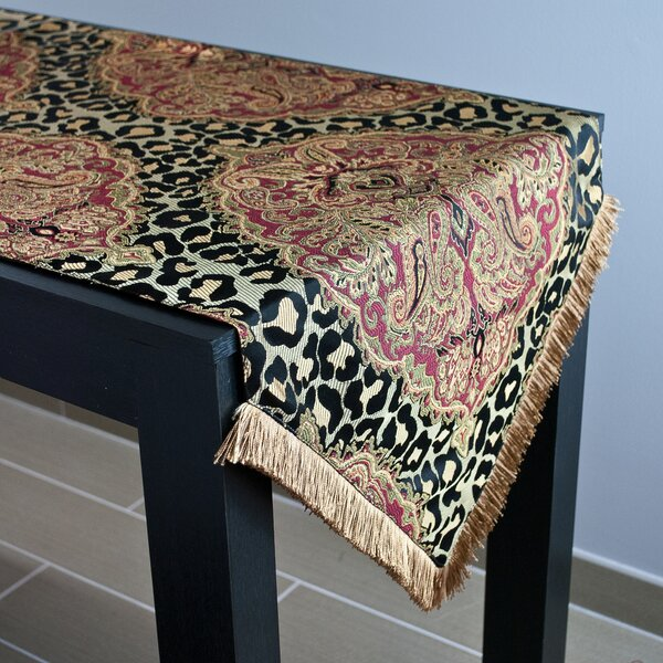 Tangiers Luxury Table Runner by Sherry Kline