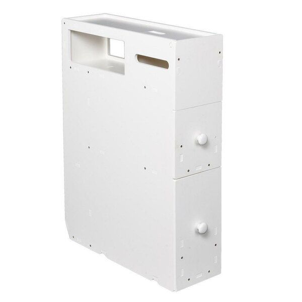 Eliud 20 W x 28 H x 6 D Free-Standing Bathroom Cabinet