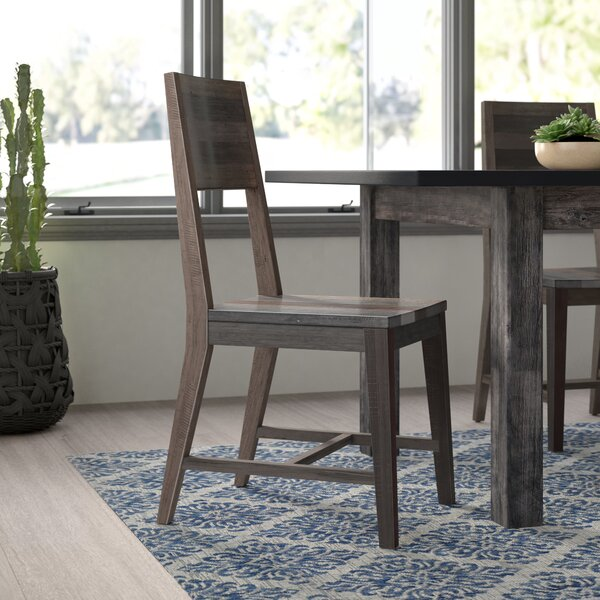 Amazing Abbey Solid Wood Dining Chair (Set Of 2) By Mistana Comparison