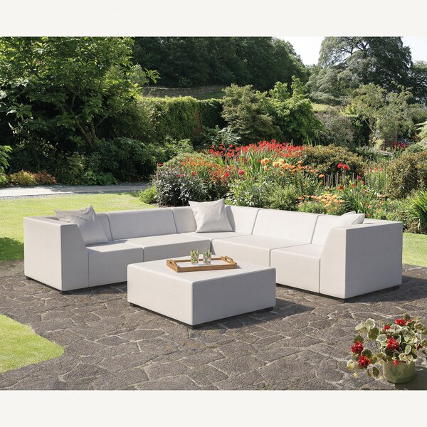 Amsterdam 3 Piece Sectional Set with Cushions by SunTime Outdoor Living
