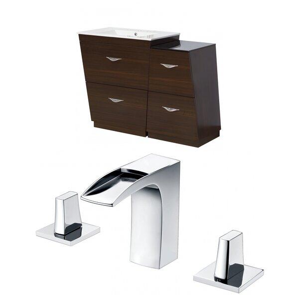 Vee 38 Single Bathroom Vanity Set