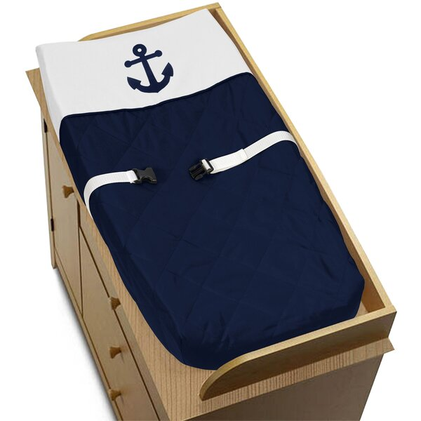 Anchors Away Changing Pad Cover by Sweet Jojo Designs