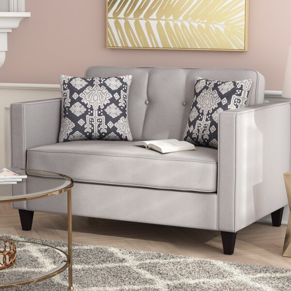 Cia Serta Upholstery Loveseat by Willa Arlo Interiors