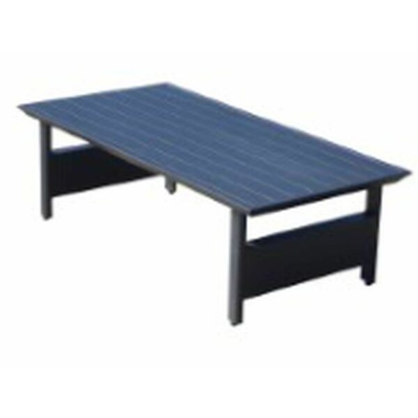 Crewellwalk Outdoor Aluminum Coffee Table