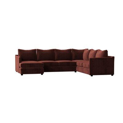 Admirable Wayfair Custom Upholstery Alice Sectional Sectional Creativecarmelina Interior Chair Design Creativecarmelinacom