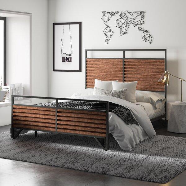 Lund Sleigh Bed by Mercury Row Mercury Row