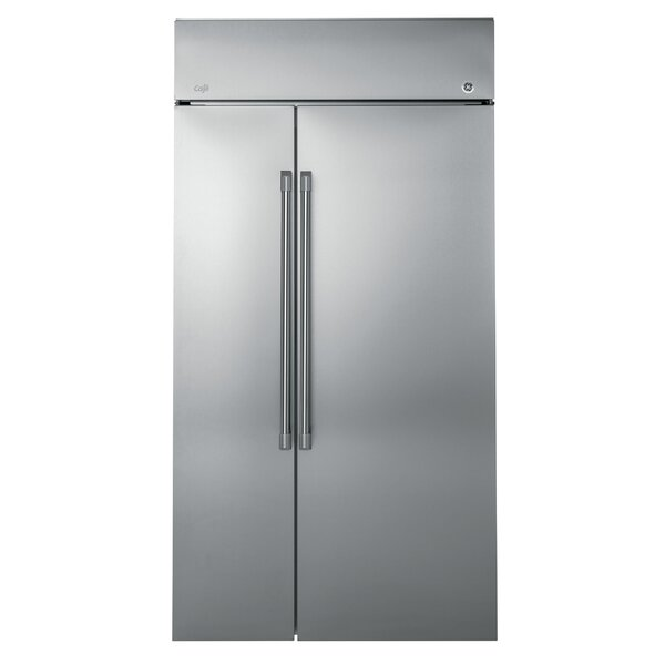 25.2 cu. ft. Counter-Depth Side by Side Refrigerator by Café™