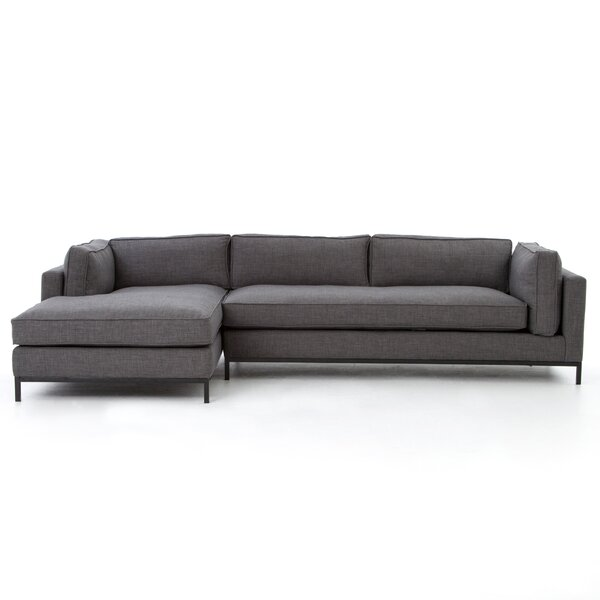 Southwold 2 Pc Sectional with Left Hand Facing Chaise by Brayden Studio