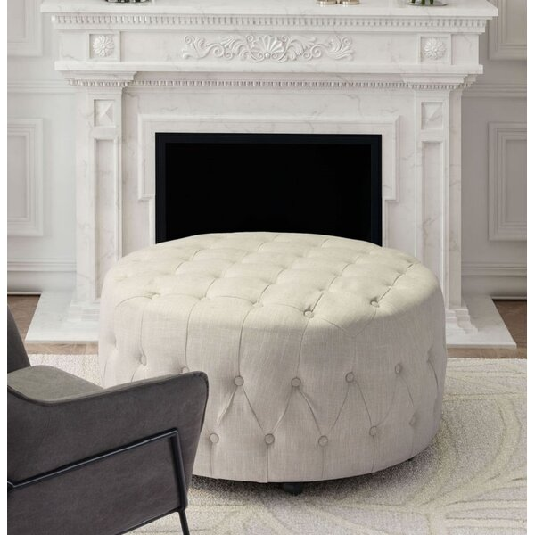 Feltman Tufted Cocktail Ottoman by Darby Home Co