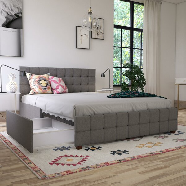 New Design Elizabeth Upholstered Storage Platform Bed By CosmoLiving By Cosmopolitan 2019 Sale