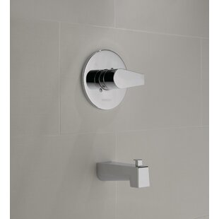 Single Handle Wall Mount Tub Only Faucet with Valve, Trim, and Diverter ByPeerless Faucets