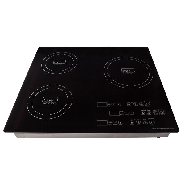 23 Induction Cooktop with 3 Burners by True Induct