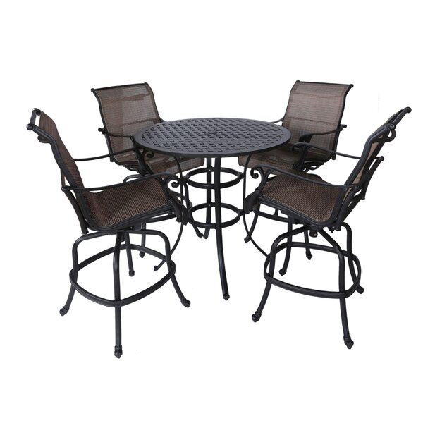 Kempf 5 Piece Bar Height Dining Set by Darby Home Co