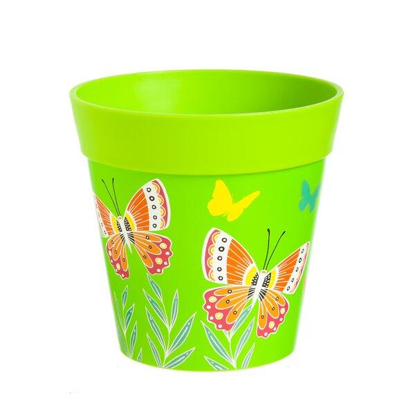 Hum Butterflies in Flight Pot Planter by New Creative