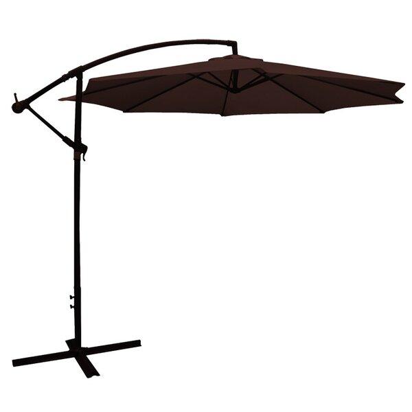 Offset Umbrella in Brown by LB International LB International