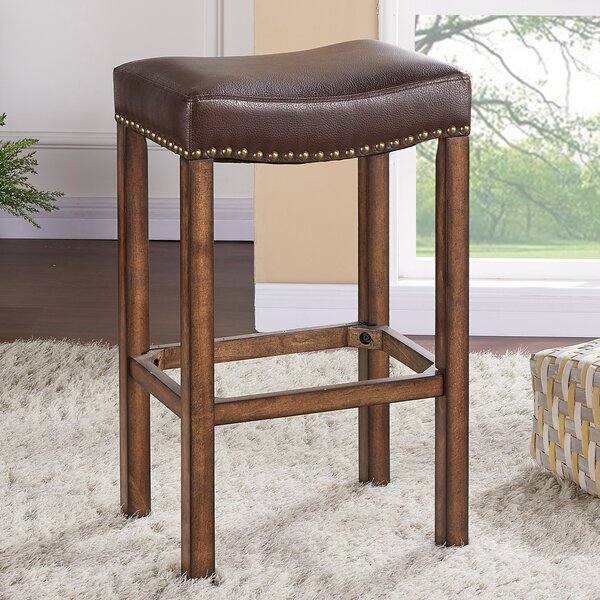 Springfield 26 Bar Stool by Charlton Home
