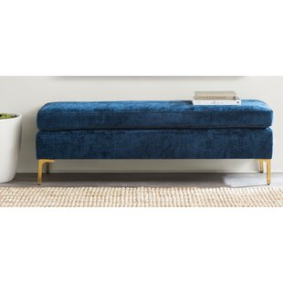 Savings Melvin Upholstered Bench By Willa Arlo Interiors