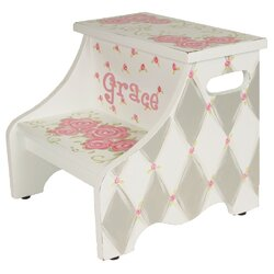 Customers Also Viewed  sc 1 st  Wayfair & Renditions by Reesa Rose Personalized Step Stool u0026 Reviews | Wayfair islam-shia.org