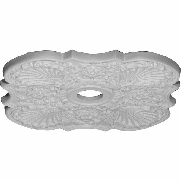 Flower 29H x 29W x 1 3/8D Ceiling Medallion by Ekena Millwork