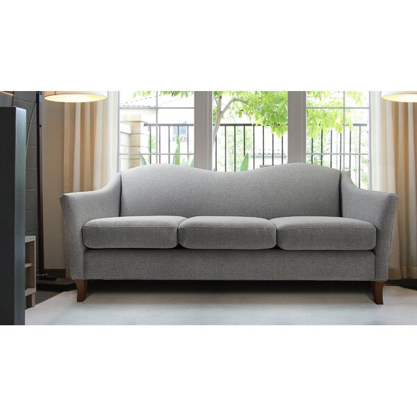 Best Price Ezekiel Camel back Standard Arm Sofa by Alcott Hill by Alcott Hill